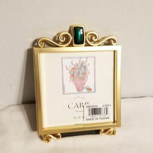 NIB Vintage Carr Photo Frame